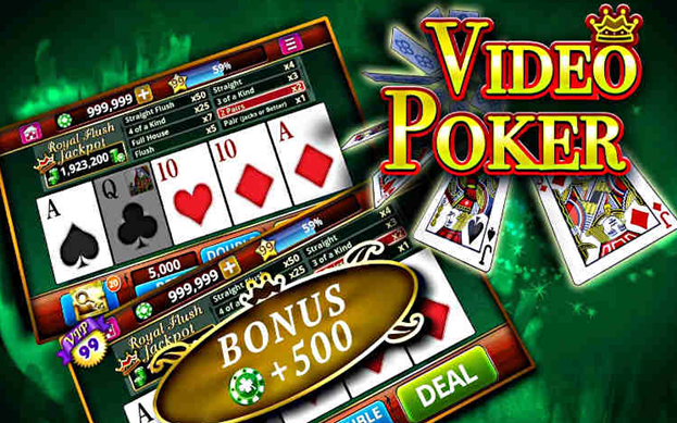 Play video poker online