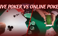 Between Online Poker and Live Poker